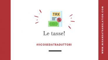 Cose Da Traduttori - Pagare Le Tasse - Lourdes Miranda